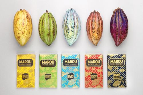 Het prachtige design van de Marou repen