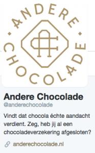 Andere Chocolade op twitter