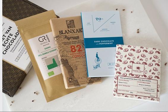 De februaribox van Andere Chocolade