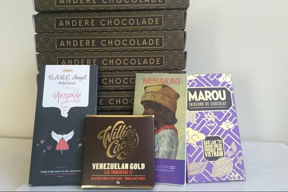 De Special Edition chocoladeacadeaubox van Andere Chocolade