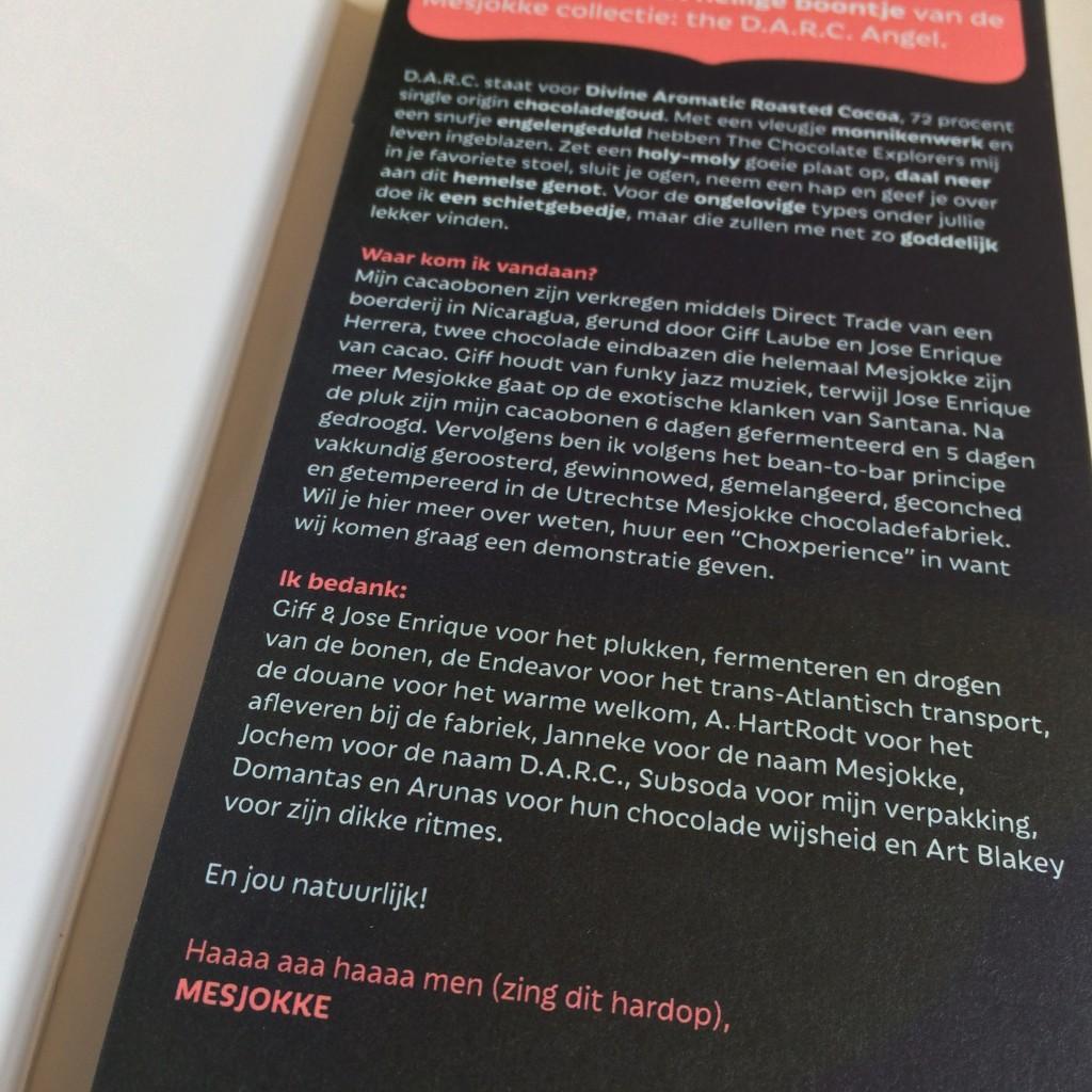 Mesjokke chocolade uit Nieuwegein. Bean-to-bar chocolade gemaakt in Nederland! Lees hier het interview met co-founder Luc!