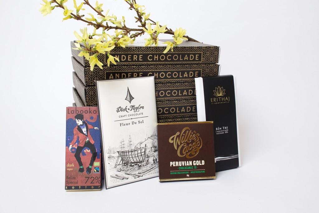 De crazy in love box van Andere Chocolade
