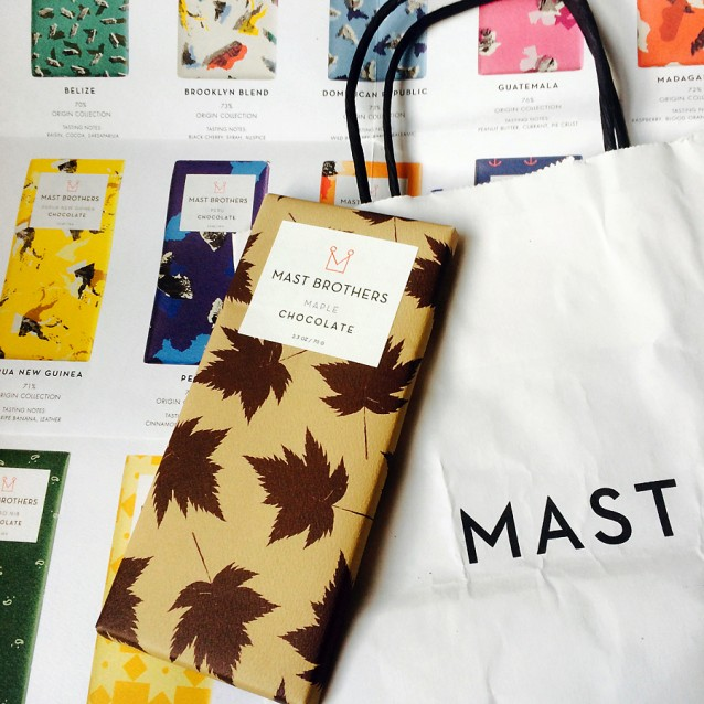Mast Brothers packaging - opkomst van de bean-to-bar chocolademakers - Andere Chocolade