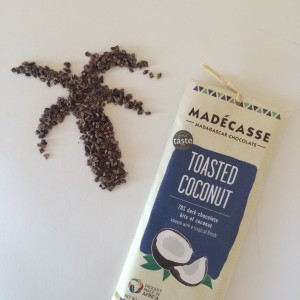 Mádecasse toasted coconut - chocolade uit Madagascar