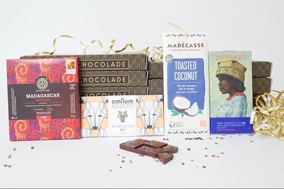 De Madagascar box van Andere Chocolade