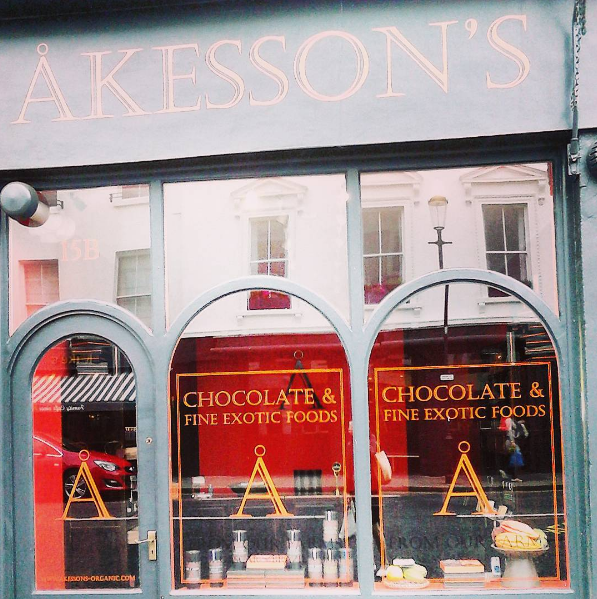 Akesson's chocolateshop in london