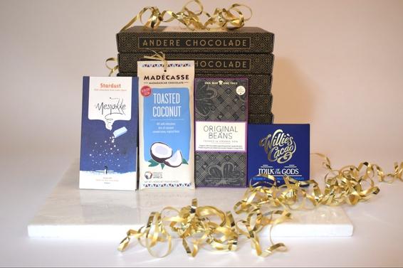 De melkbox van Andere Chocolade